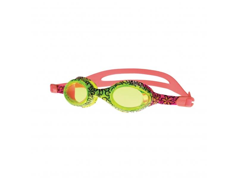 brýle Spokey BARBUS růžové s potiskem kytiček