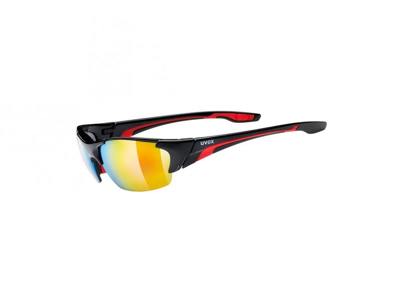 brýle UVEX Blaze III černo/červené