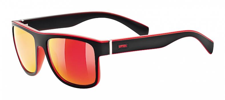 brýle UVEX LGL 21 černo/červené