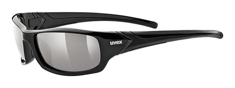 brýle UVEX Sportstyle 211 POLA černé