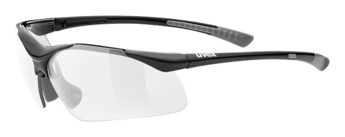 brýle UVEX Sportstyle 223 černo/šedé