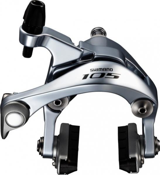 Brzda Shimano 105 BR-5800 přední stříbrná 51mm