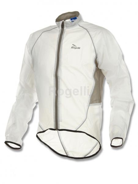 bunda pánská Rogelli CROTONE pláštěnka transparentní, XS