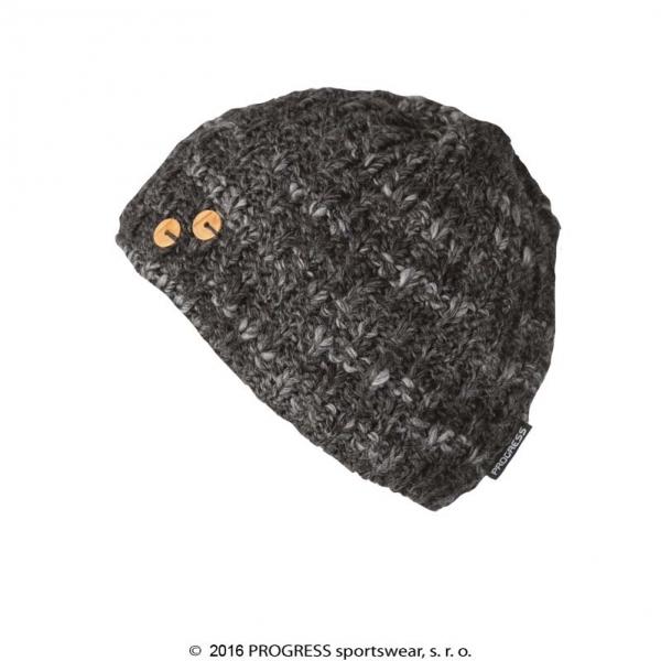 čepice dámská Progress MADLA pletená černá