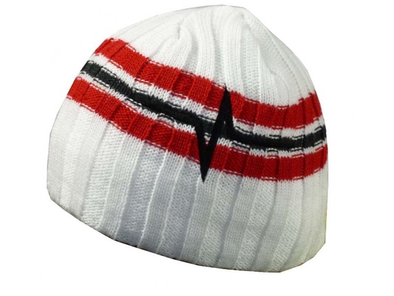 čepice HAVEN Beanie bílo/červená