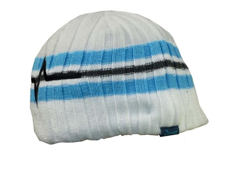 čepice HAVEN Beanie bílo/modrá