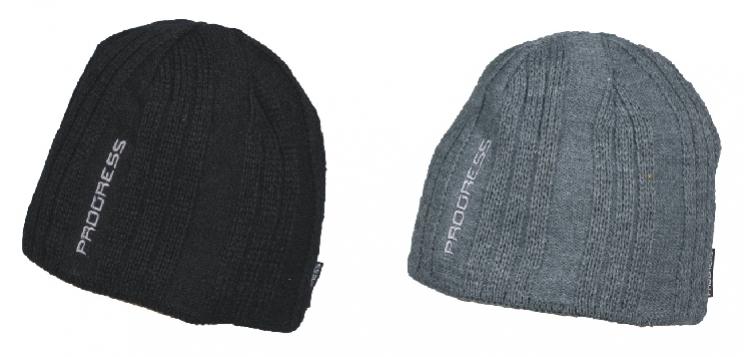 čepice pánská Progress CIVIL pletená černá