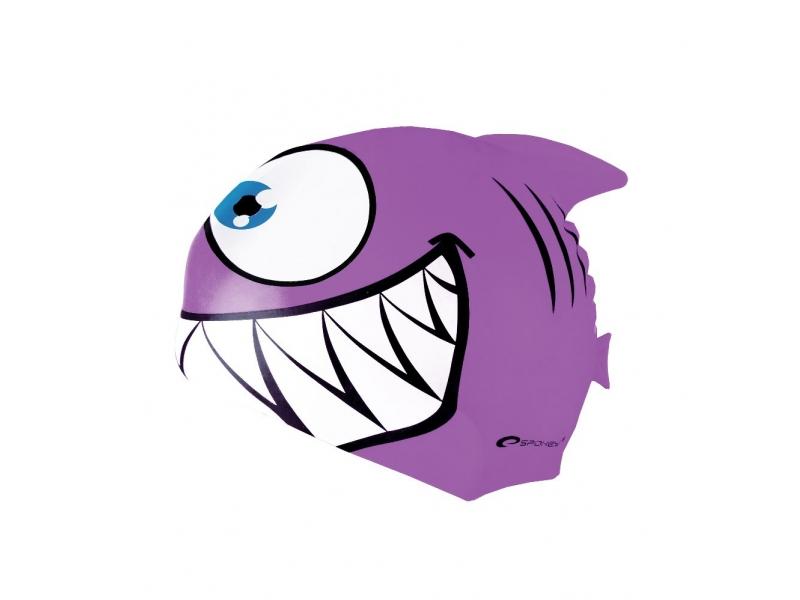 čepice plavecká dětská Spokey REKINEK fialová