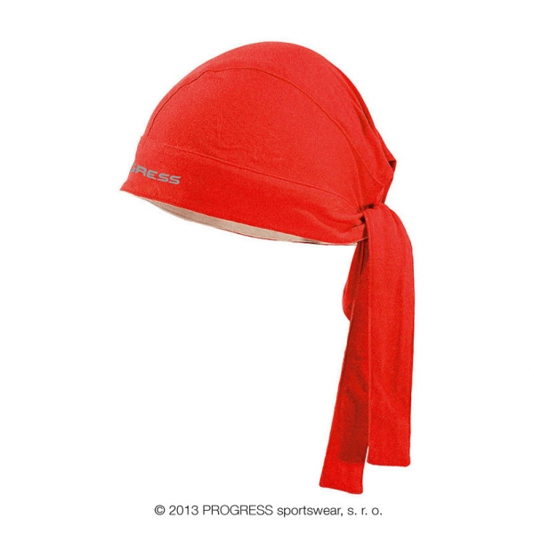 čepice Progress D CEZ zavazovací červená