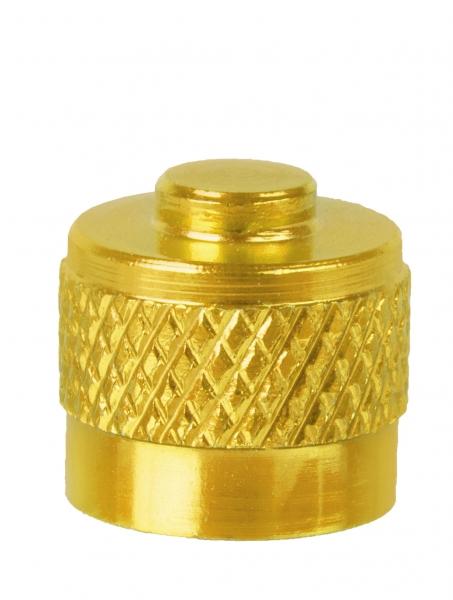čepička ventilková M-Wave zlatá 1ks