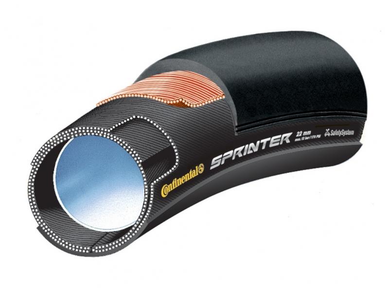 "galuska Continental Sprinter 28""x22mm"