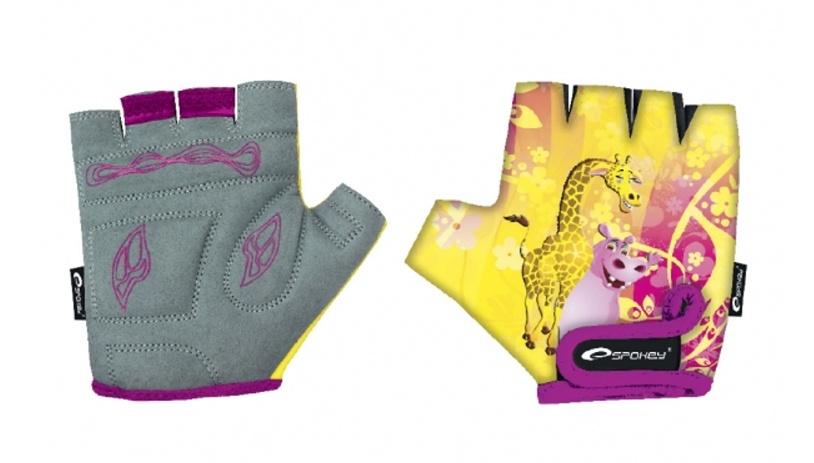 rukavice dětské Spokey GIRAFFE GLOVE, XS