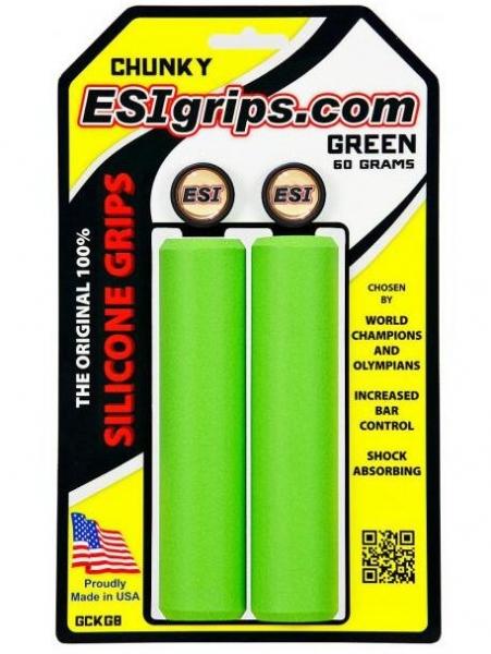 Gripy ESI Chunky zelené