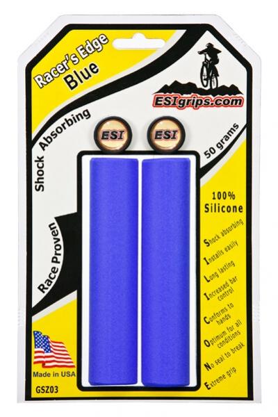 Gripy ESI Racer's Edge modré