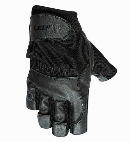 rukavice Poledník fitness IMPERATOR černé, L