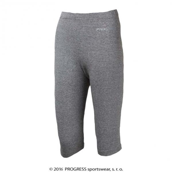 kalhoty 3/4 dětské Progress CHICO šedé, 116