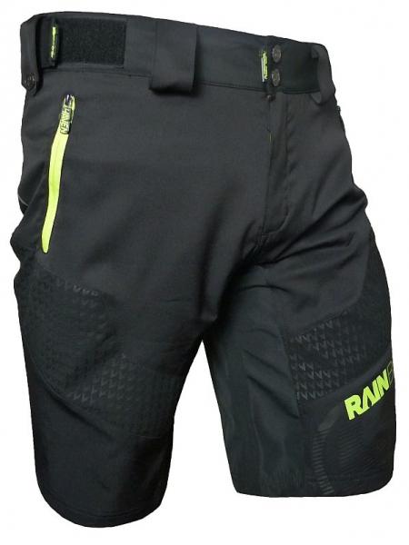 Kalhoty krátké pánské HAVEN RAINBRAIN černo/zelené
