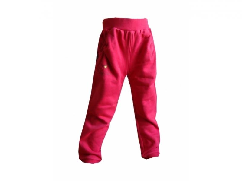 tepláky dlouhé dětské LOAP TIFI růžové, 86