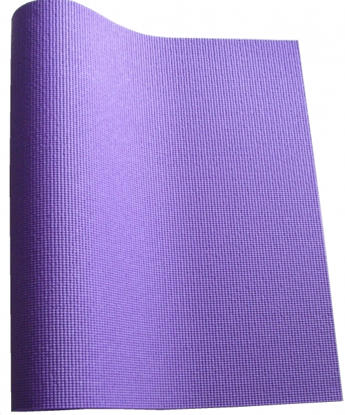 karimatka na cvičení 6mm s obalem fialová
