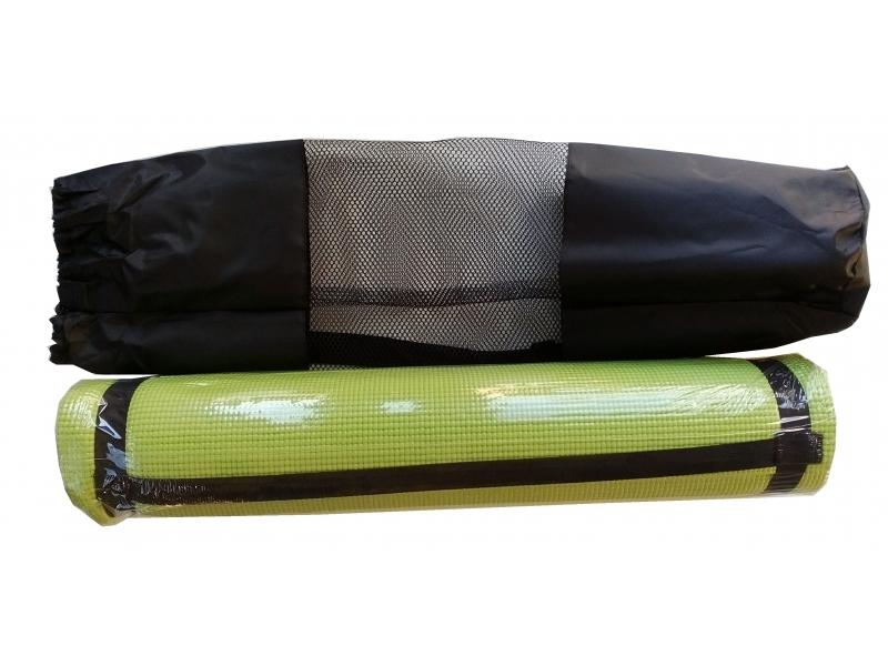 karimatka na cvičení 6mm s obalem zelená