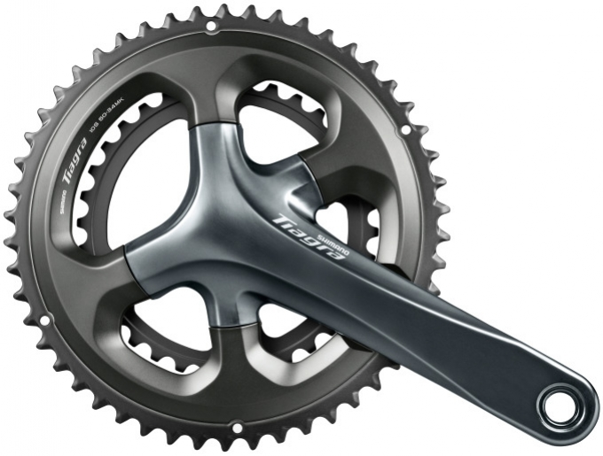 Kliky Shimano Tiagra FC-4700 2x10 50/34z 170mm šedé