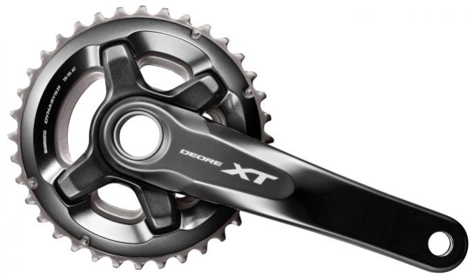 Kliky Shimano XT FC-M8000 2x11 38/28z 175mm černé