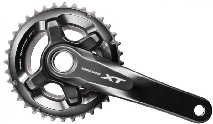 Kliky Shimano XT FC-M8000 2x11 36/26 170mm černé