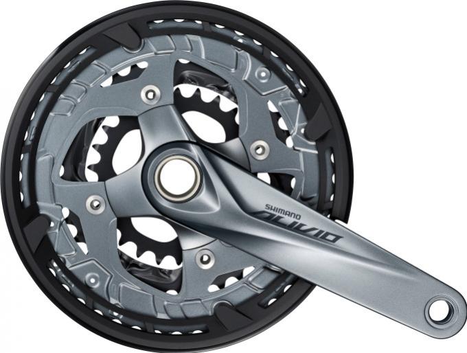 Kliky Shimano Alivio FC-M4060 3x9 48/36/26z 170mm šedé
