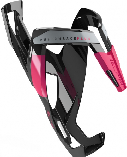 košík ELITE Custom Race Plus Black, růžový graphic