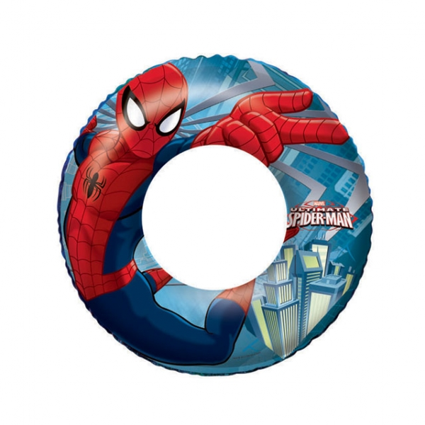 kruh nafukovací 56cm Spiderman