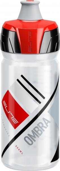 Lahev ELITE Ombra Clear červená, 550 ml