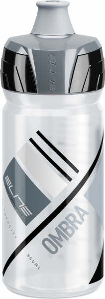 lahev ELITE Ombra Clear šedá, 550 ml