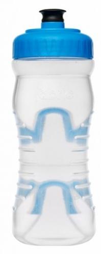 lahev FABRIC 600ml clear/modrá