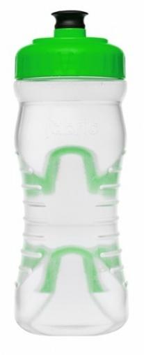lahev FABRIC 600ml clear/zelená