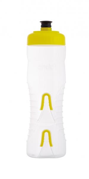 lahev FABRIC 750ml clear/žlutá