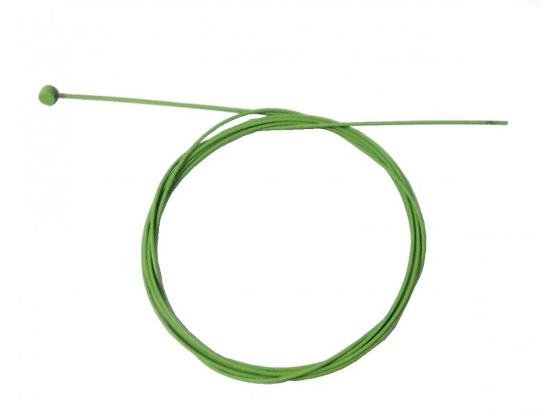 lanko brzdové 1.5*2100 nerez Alhonga zelené
