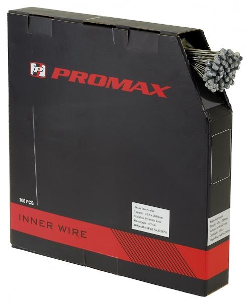 lanko brzdové MTB PROMAX 1.5*200 nerez 100ks