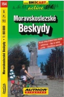 mapa cyklo Beskydy,154