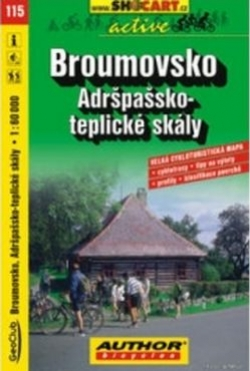 mapa cyklo Broumovsko,115