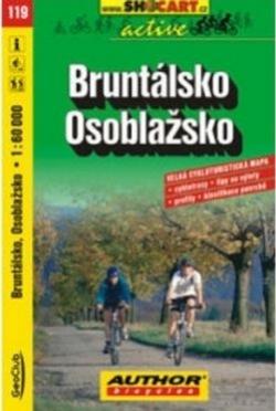 mapa cyklo Bruntálsko,Osoblažsko,119