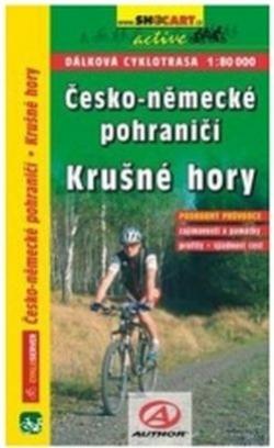 mapa cyklo Česko-Německé pohraničí, Krušné Hory