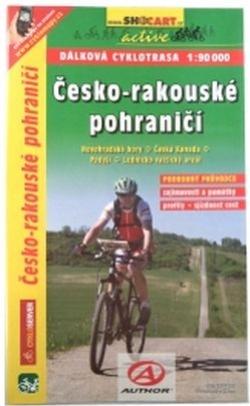 mapa cyklo Česko-Rakouské pohraničí