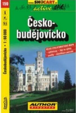mapa cyklo Českobudějovicko,159