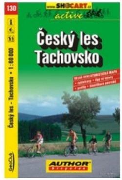 mapa cyklo Český Les,Tachovsko,130