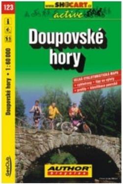 mapa cyklo Doupovské hory,123