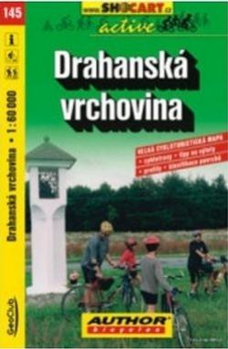 mapa cyklo Drahanská vrchovina,145