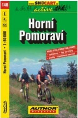 mapa cyklo Horní Pomoraví,146