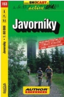 mapa cyklo Javorníky,153