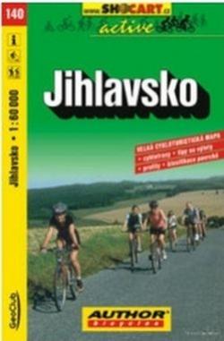 mapa cyklo Jihlavsko,140