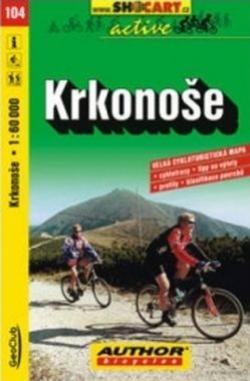 mapa cyklo Krkonoše,104